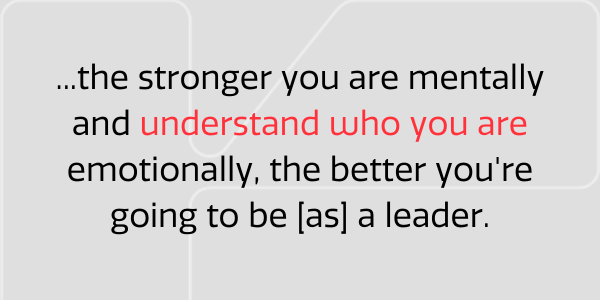 Understand who you are
