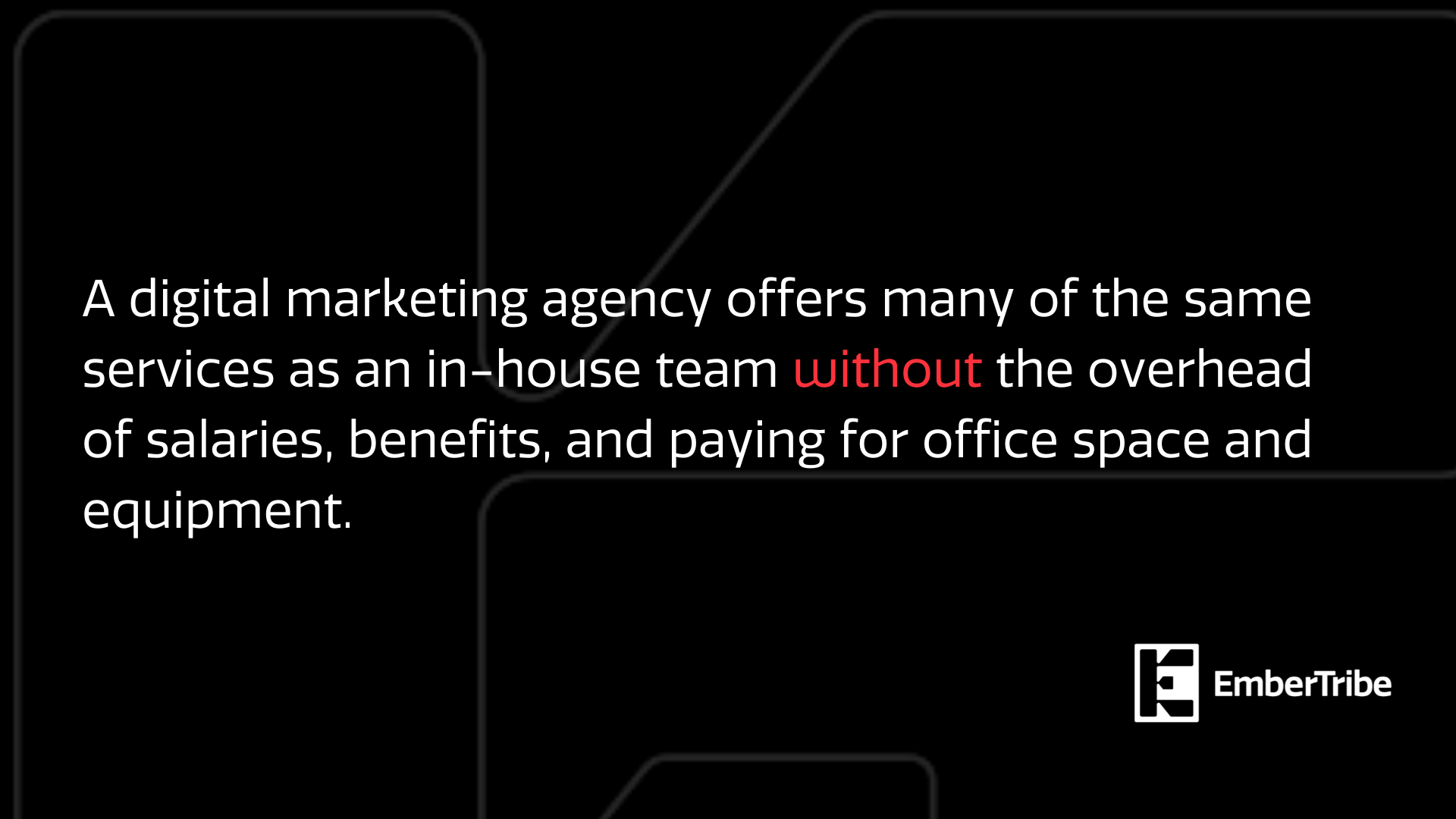 Full-service digital marketing agency offers