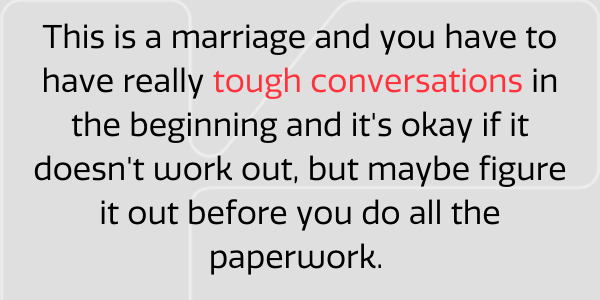 Cofounder marriage