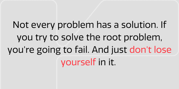 Not every problem has a solution