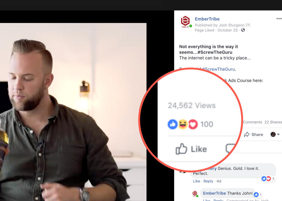 FB video views