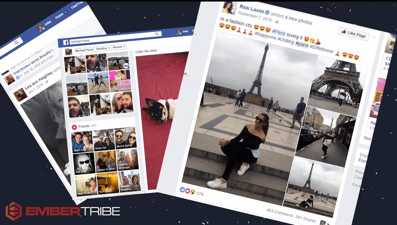 Images of Facebook Ads