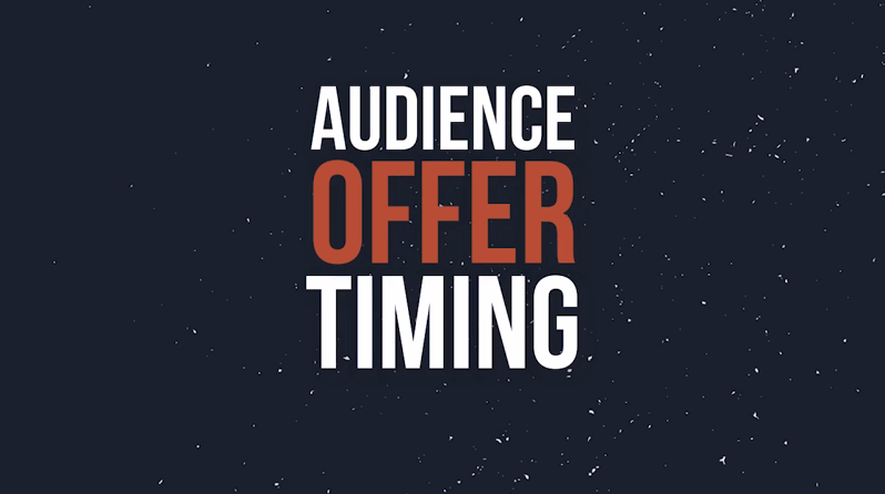 Audience Offer Timing