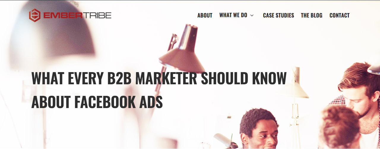 What Every B2B Marketer Know Facebook Ads