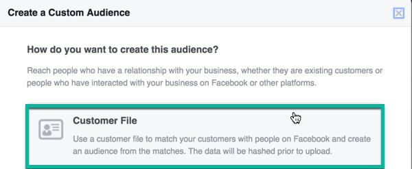 custom audience smaller