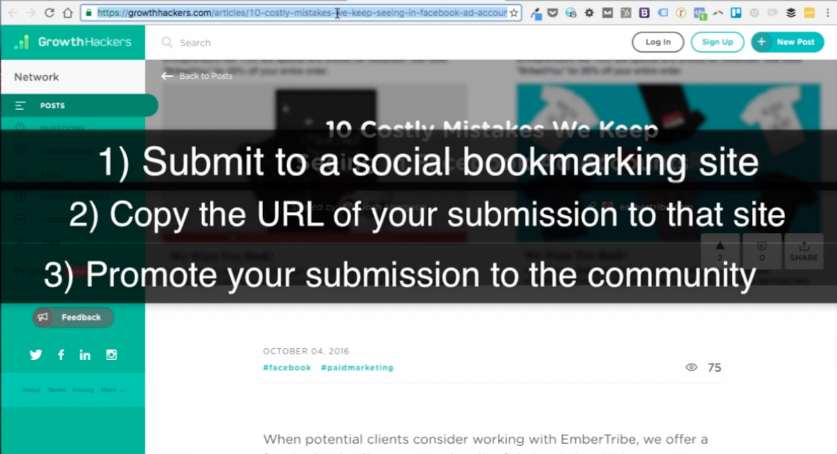 Maximizing your content marketing efforst with GrowthHackers