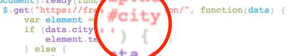 city script